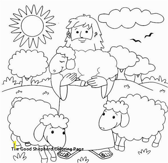 28 the Good Shepherd Coloring Page