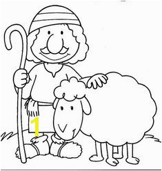 The Lost Sheep Coloring Page Coloring Pages About Jesus Feeding 5000