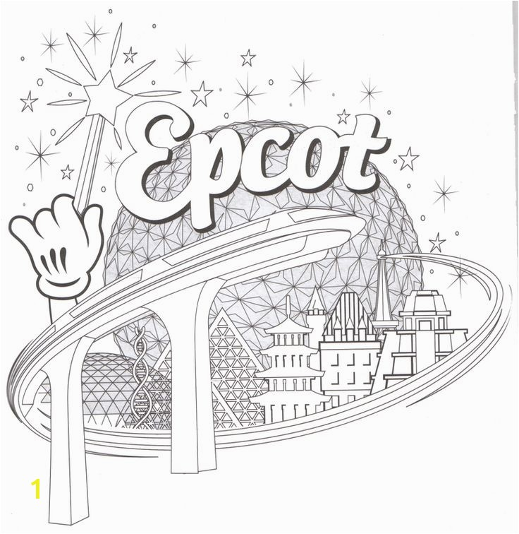 Disney World Coloring Pages Beautiful 85 Best Florida Pinterest