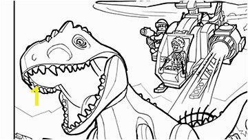 LEGO Jurassic Park coloring pages