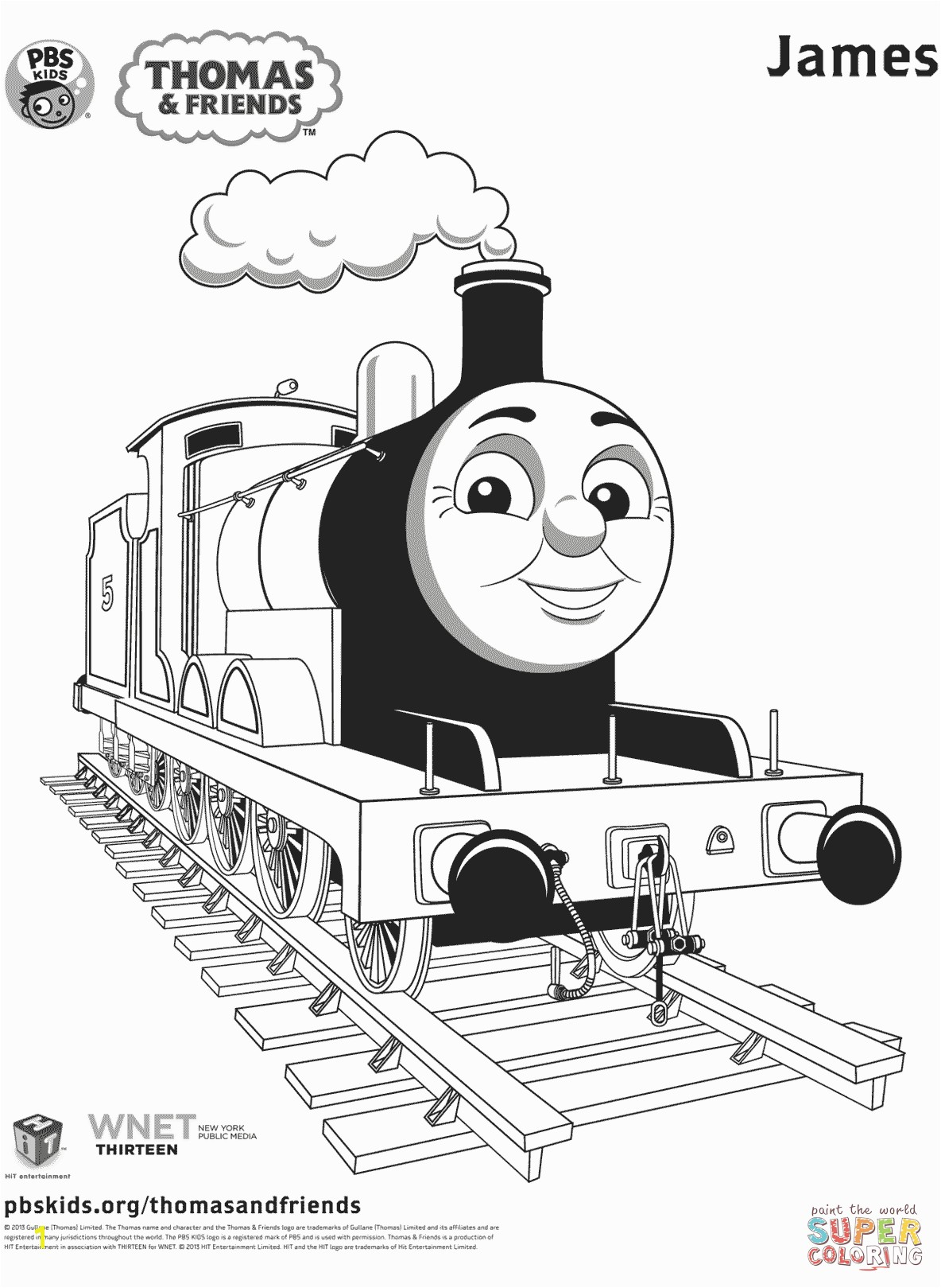 Thomas Coloring Pages Printable Thomas & Friends Coloring Pages