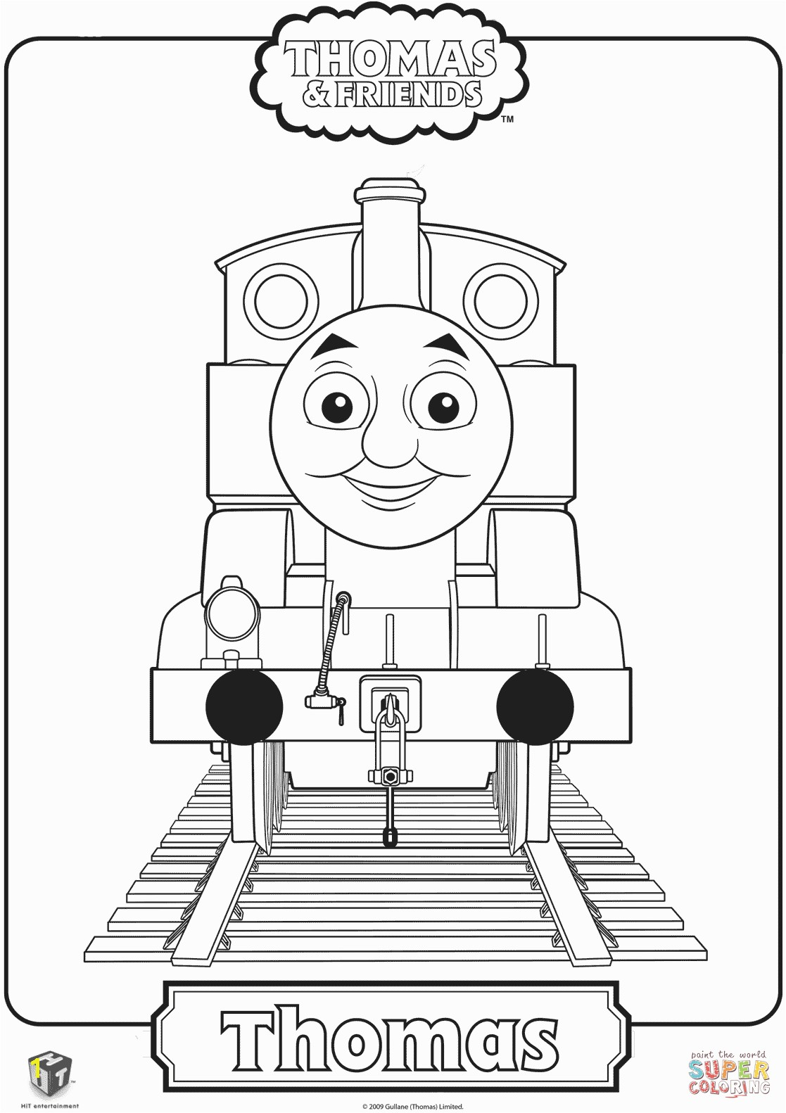 the Thomas the Train coloring pages to view printable version or color it online patible with iPad and Android tablets