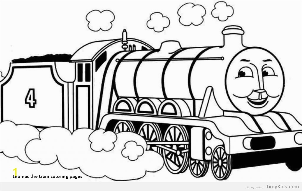 Thomas The Train Coloring Pages mofassel