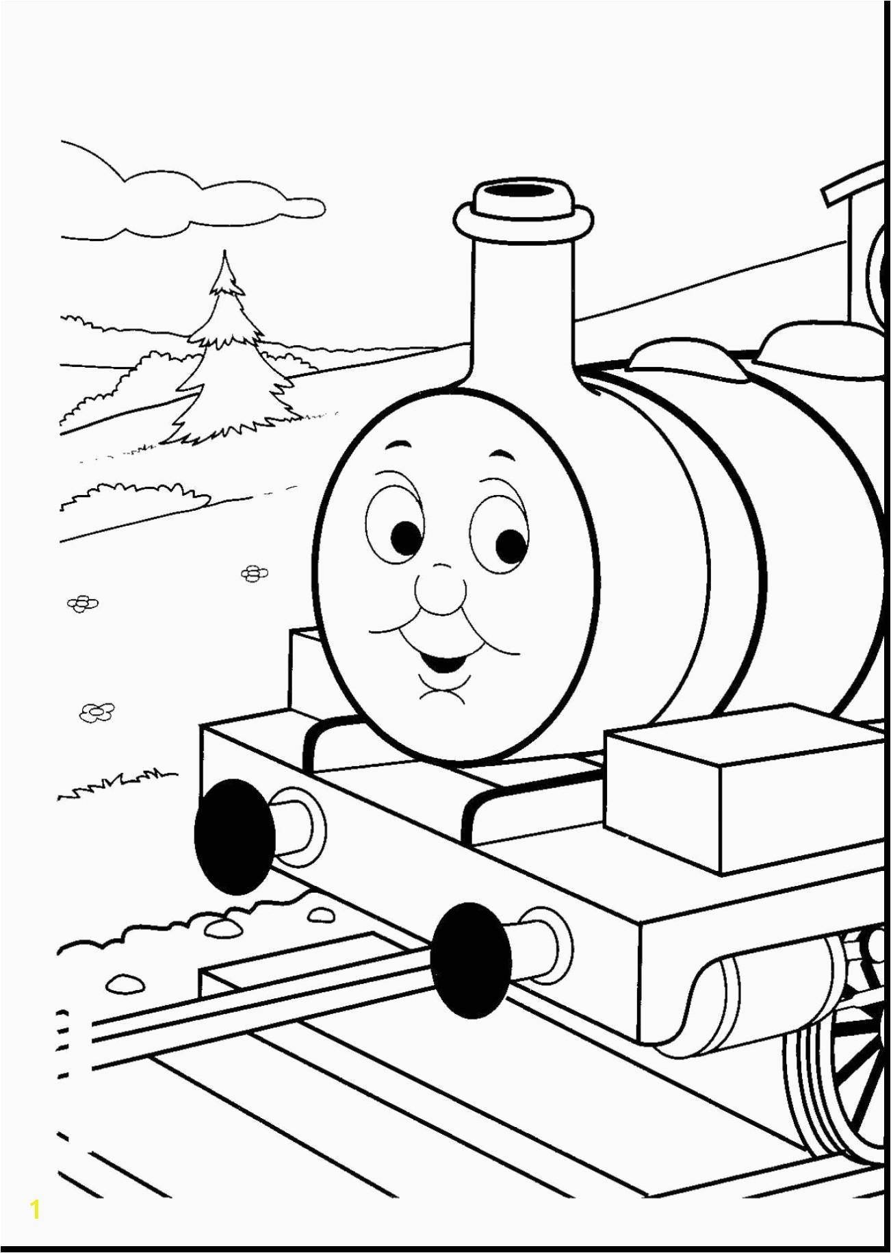 Thomas Train Coloring Pages Fresh Free Train Coloring Pages Awesome Thomas Train Drawing at