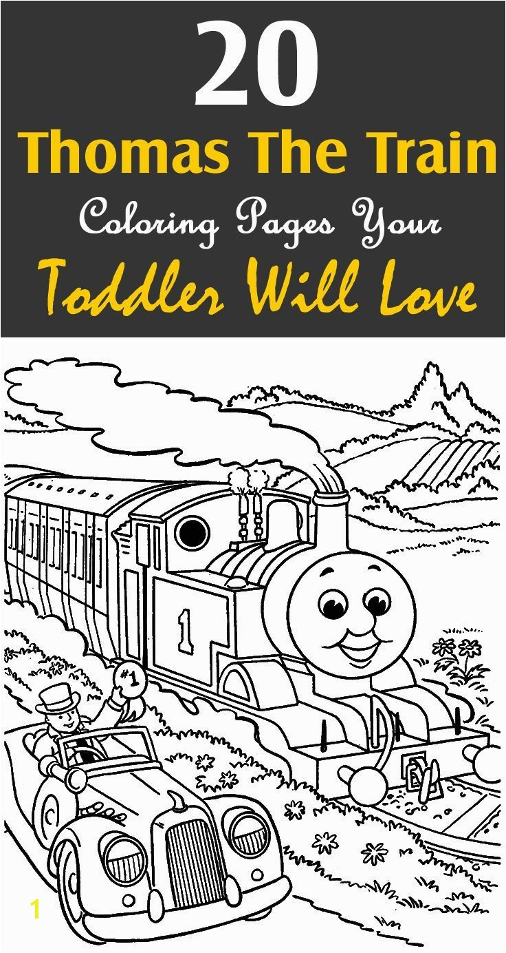 Thomas Train Coloring Pages top 20 Free Printable Thomas the Train Coloring Pages Line