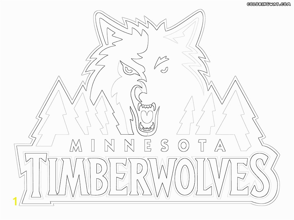 NBA logos coloring pages