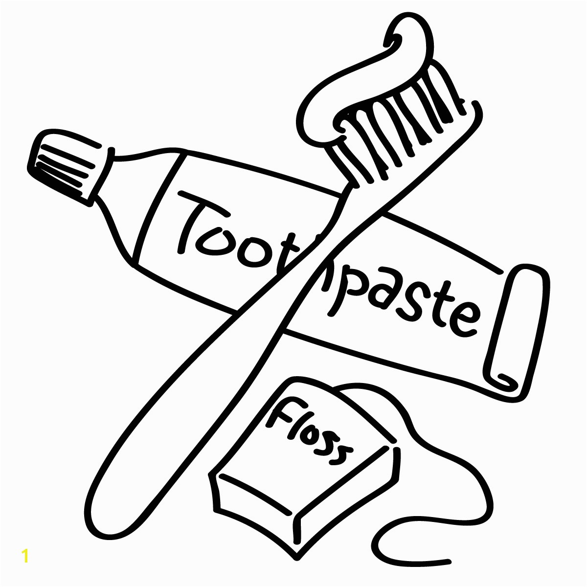 Brush Teeth Brushing Teeth Coloring Pages 4Fbb8 Clip Art Image