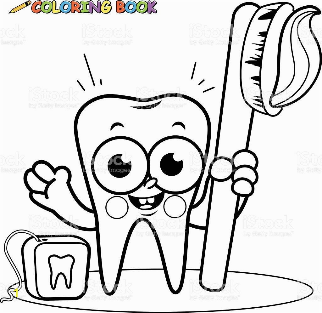 Improved Tooth And Toothbrush Coloring Pages Impressive Page Printable Free 1024x994