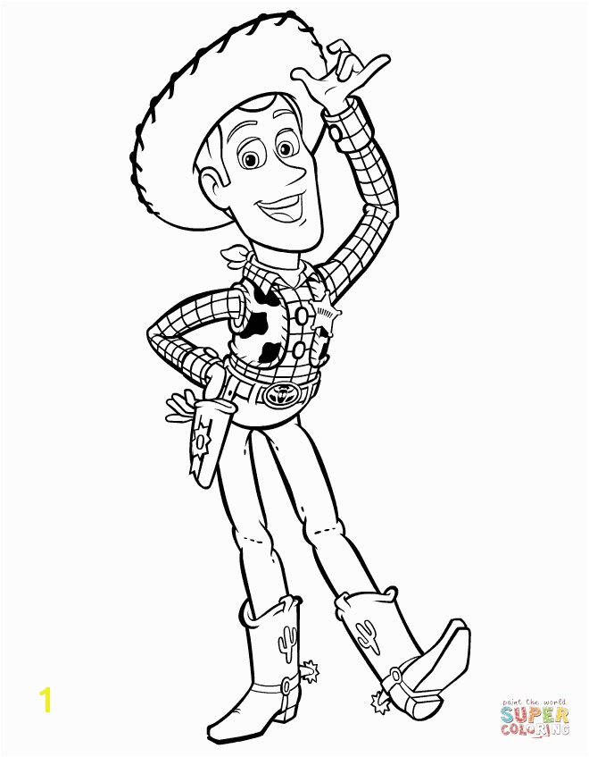 Sheriff Woddy Says Hi · Sheriff Woody from Toy Story
