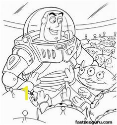 Printabel coloring pages Toy story 3 Buzz cartoon and Grandchildren Printable Coloring Pages For Kids