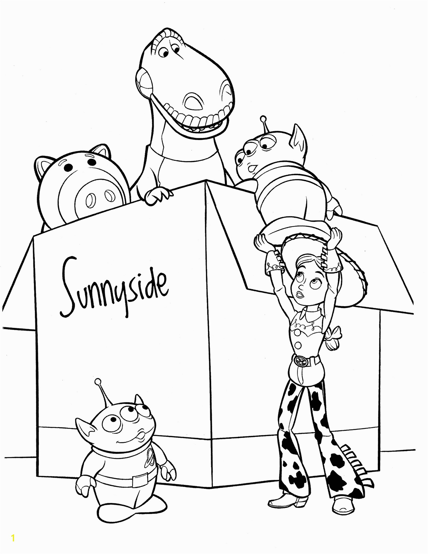 Toy Story 3 Jessie Coloring Pages toy Story Coloring Page Cool Coloring Pages