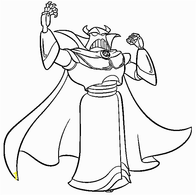 toy story coloring pages emperor zurg coloringstar
