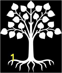252x297 Tree With Rootswhite Clip Art