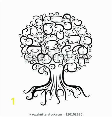 tree with roots coloring page stencil designs oak google search colorin