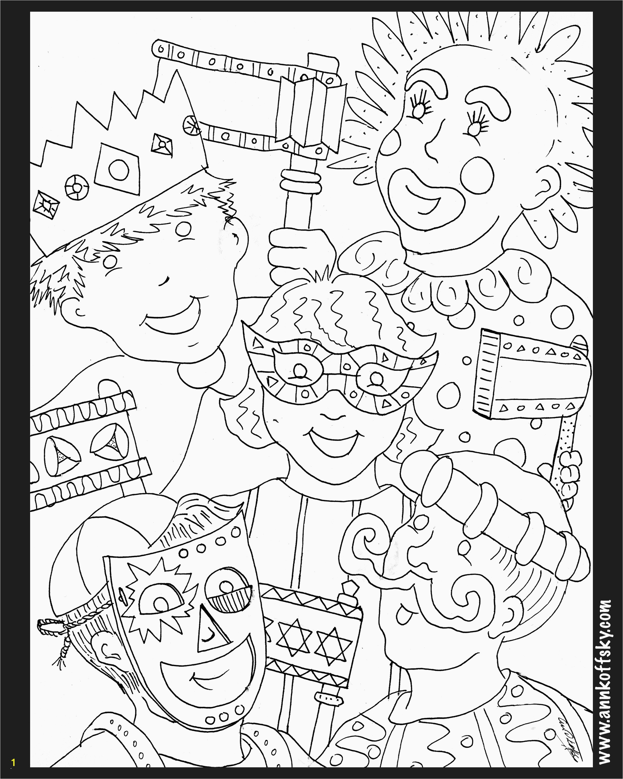 Tu B Shevat Coloring Pages Elegant Purim Coloring Pages Heathermarxgallery Tu B Shevat Coloring Pages