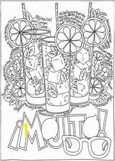 A Wine Beer And Cocktails Coloring Book doverpublications
