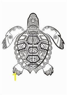 La tortue marine  colorier du dimanche Plus
