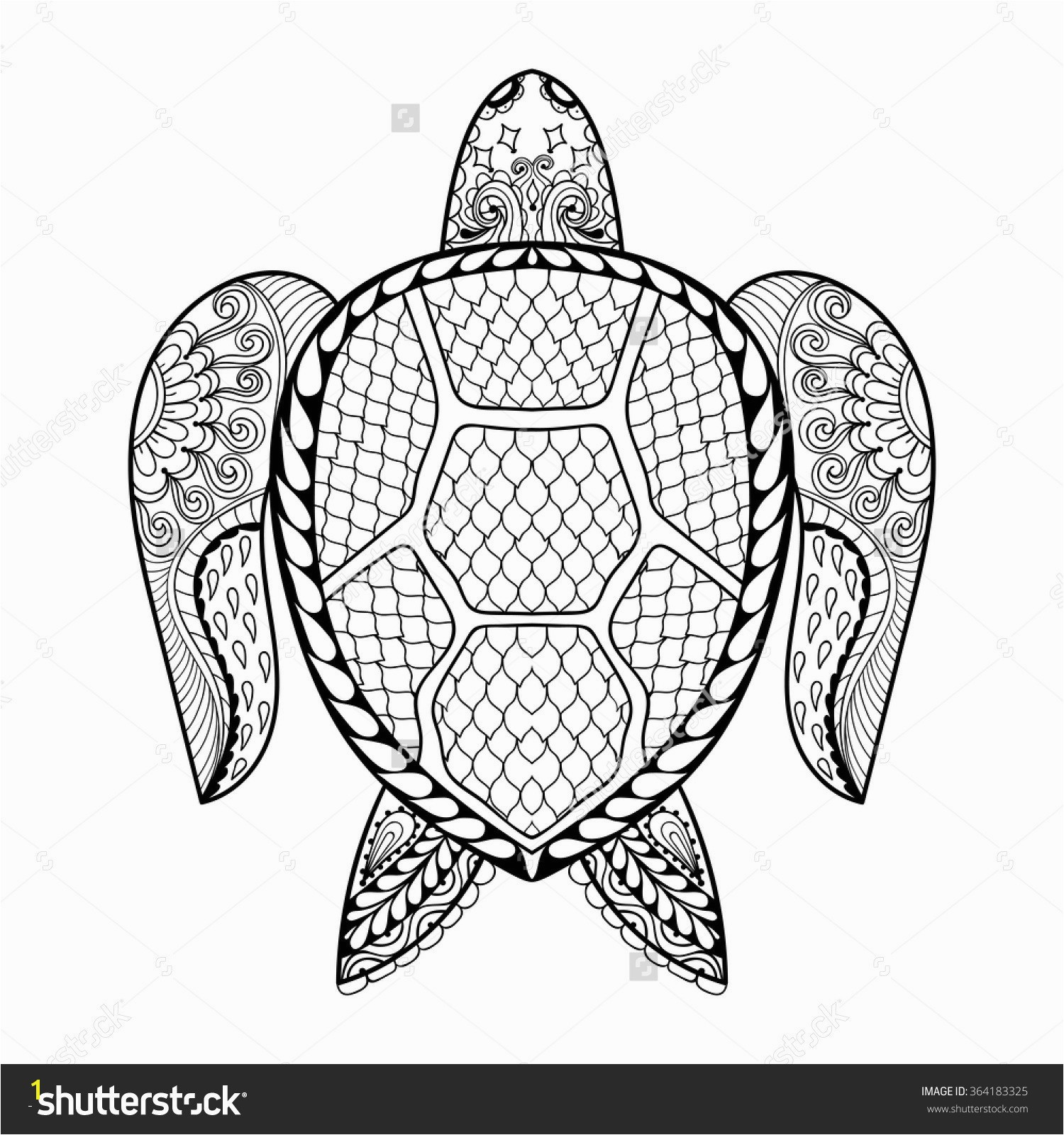 Turtle Mandala Coloring Pages Printable Turtle Coloring Pages for Adults Animal Mandala Coloring Pages New