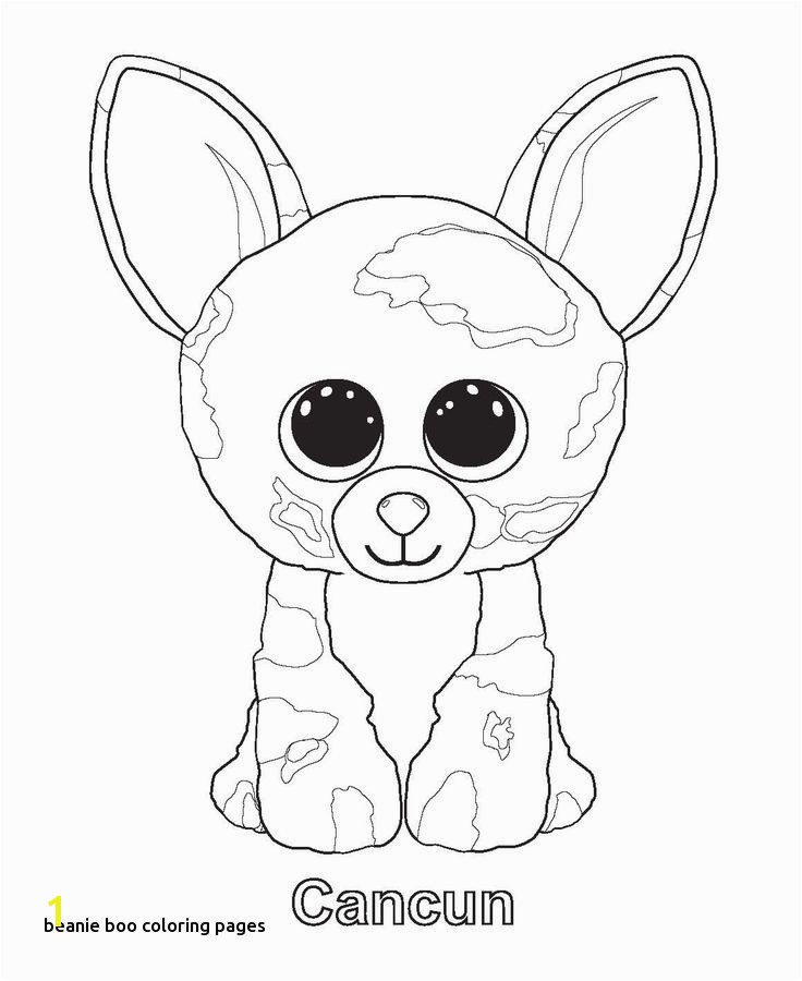 Ty Beanie Babies Coloring Pages Beautiful Beanie Boo Coloring Pages