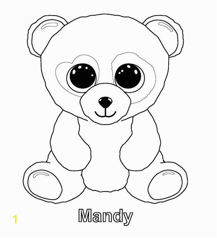 Ty Beanie Babies Coloring Pages Elegant 29 Best Ty Beanie Boo Beanie Pinterest
