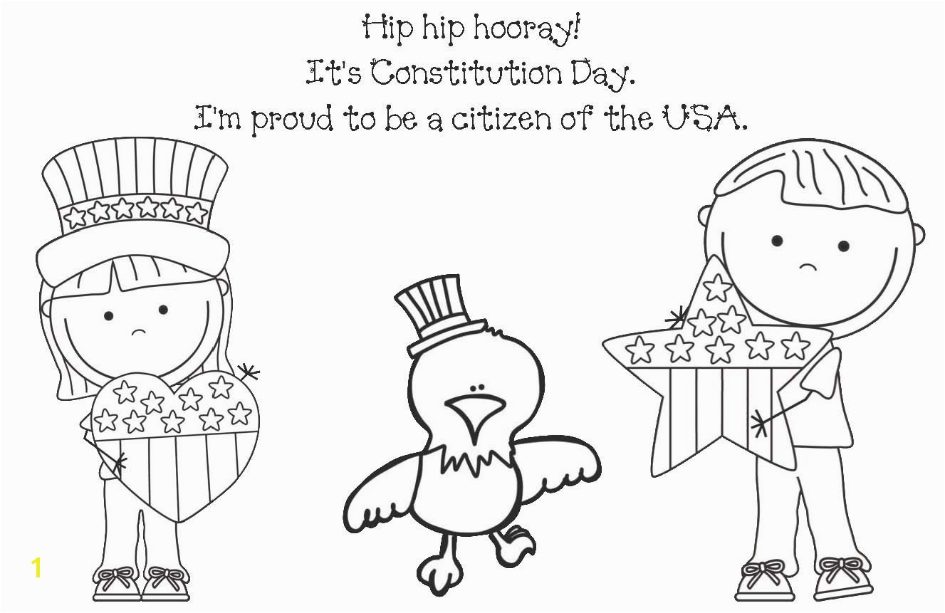 Us Constitution Coloring Pages Elegant Constitution Coloring Pages