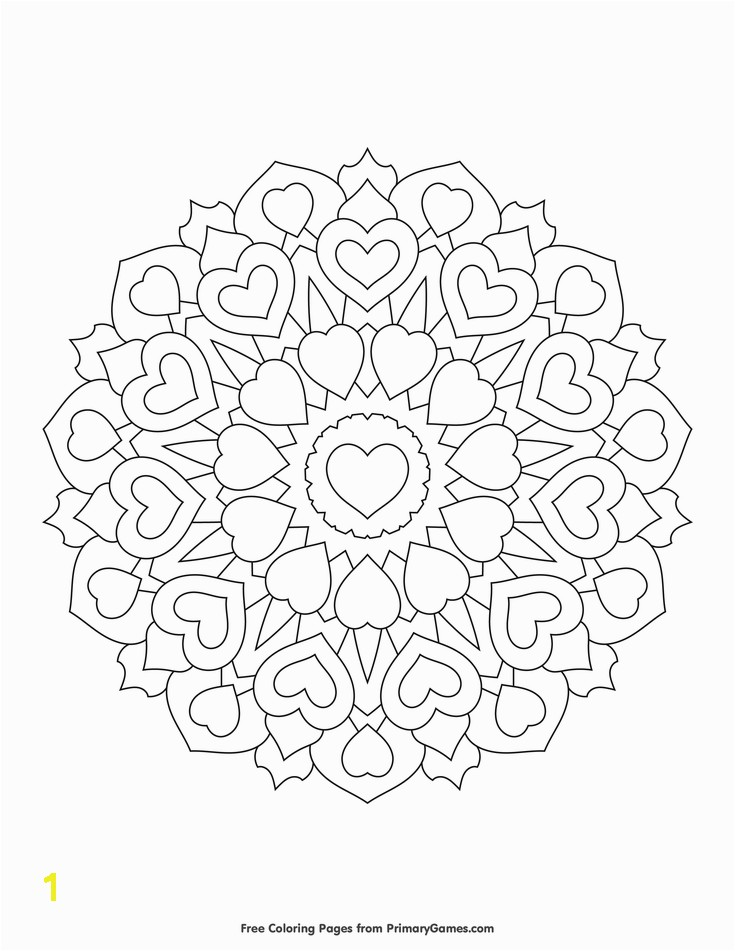 Free printable Valentine s Day Coloring Pages eBook for use in your classroom or home from PrimaryGames