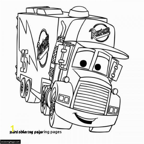 Vehicle Coloring Pages for Kids 25 Cars Coloring Page