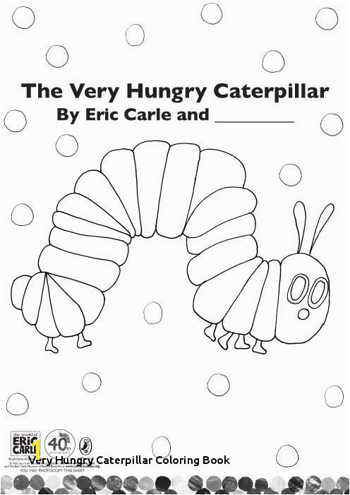 21 Very Hungry Caterpillar Coloring Book
