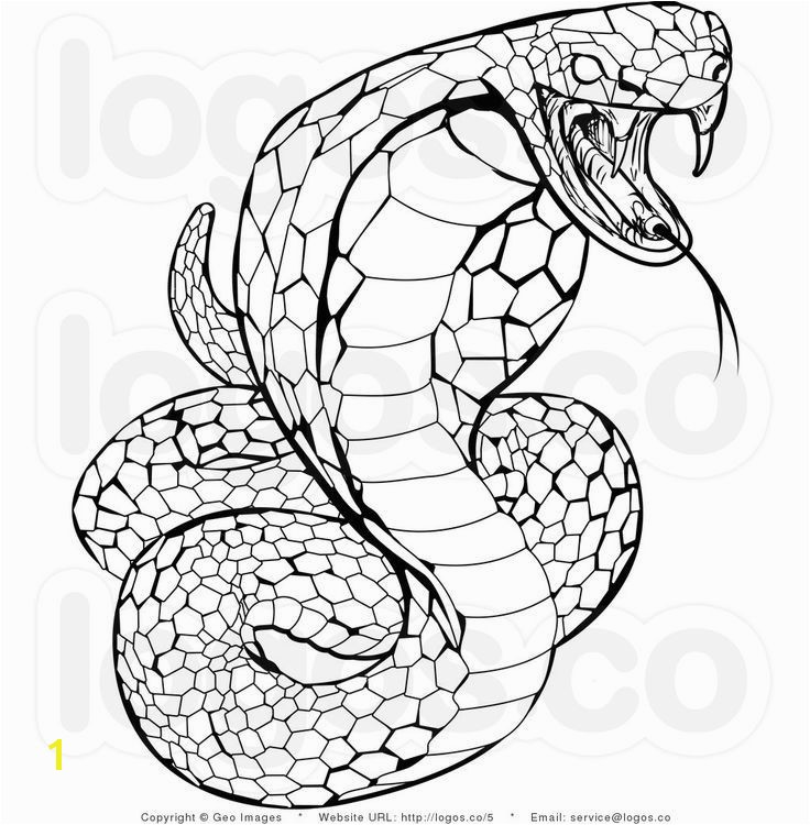 Image result for mosaic coloring pages for adults snake