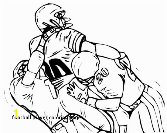 Football to Colour In Best Football Player Coloring Pages