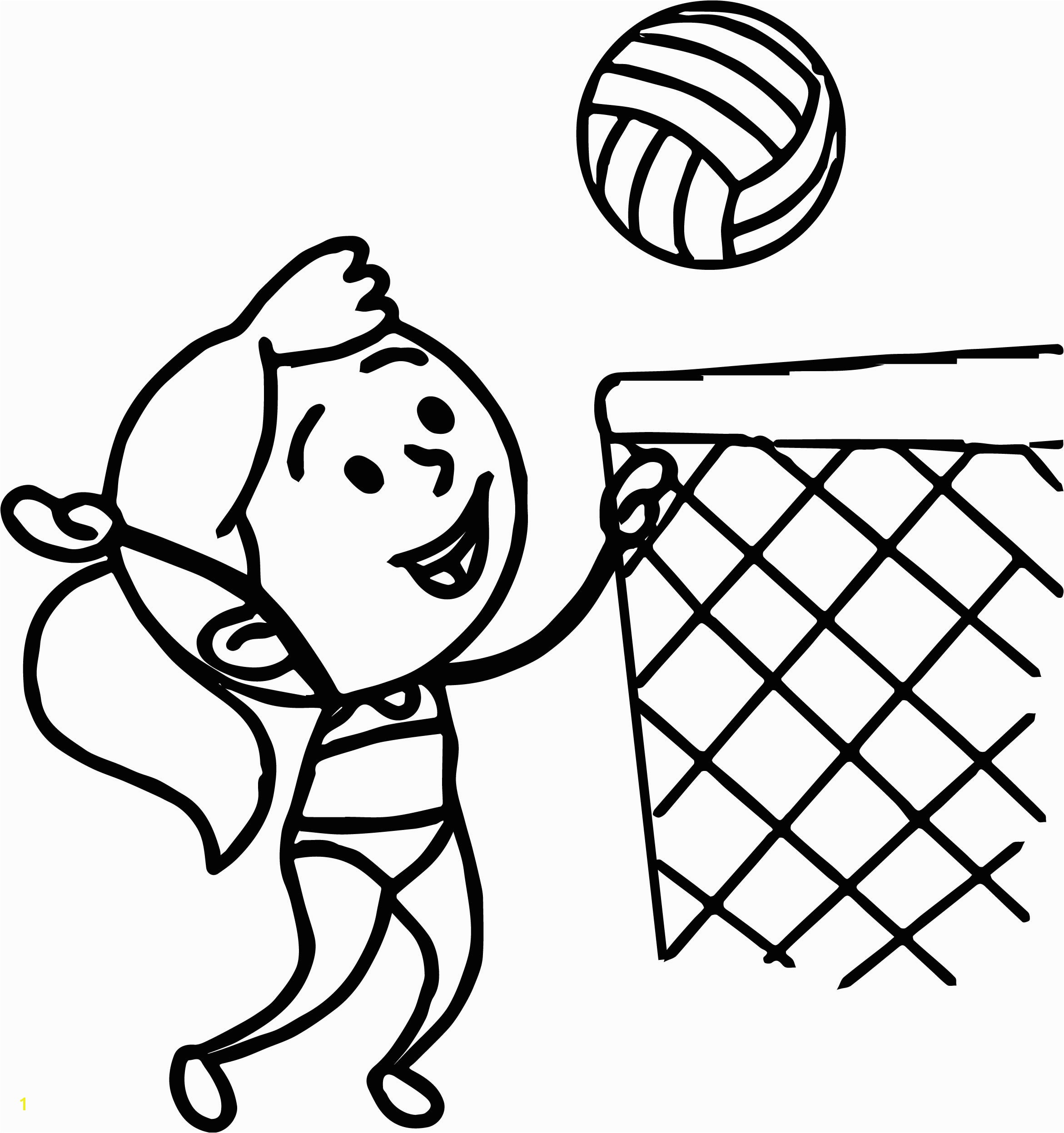 free coloring pages for girls minion swimsuit images cartoon girl in bathing suit playing beach volleyball coloring page
