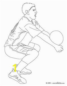 Volleyball player setting the ball coloring page More sports coloring pages on hellokids