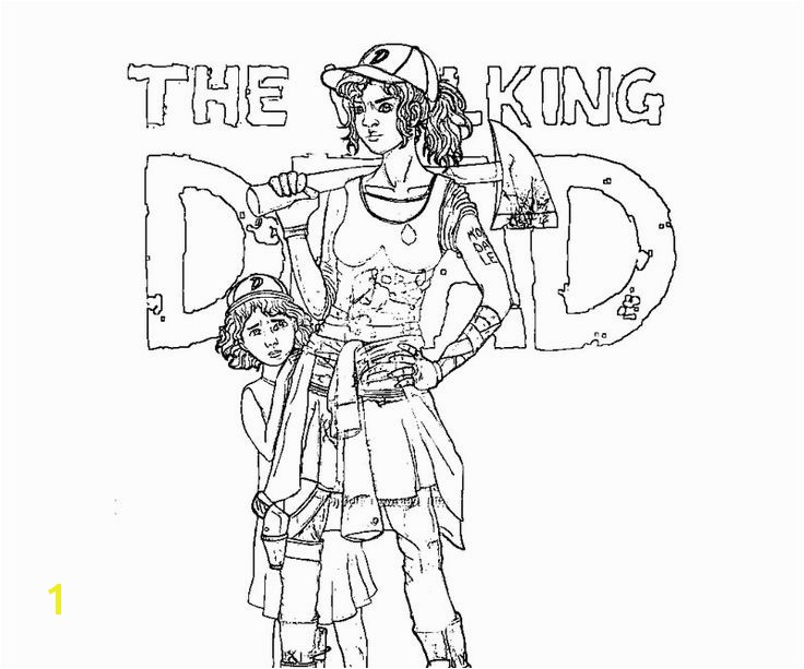 Walking Dead Coloring Pages the Walking Dead Coloring Pages