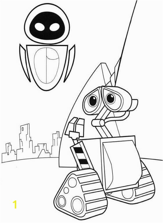 Wall E Coloring Pages 2460 Best Colouring Pages Pinterest