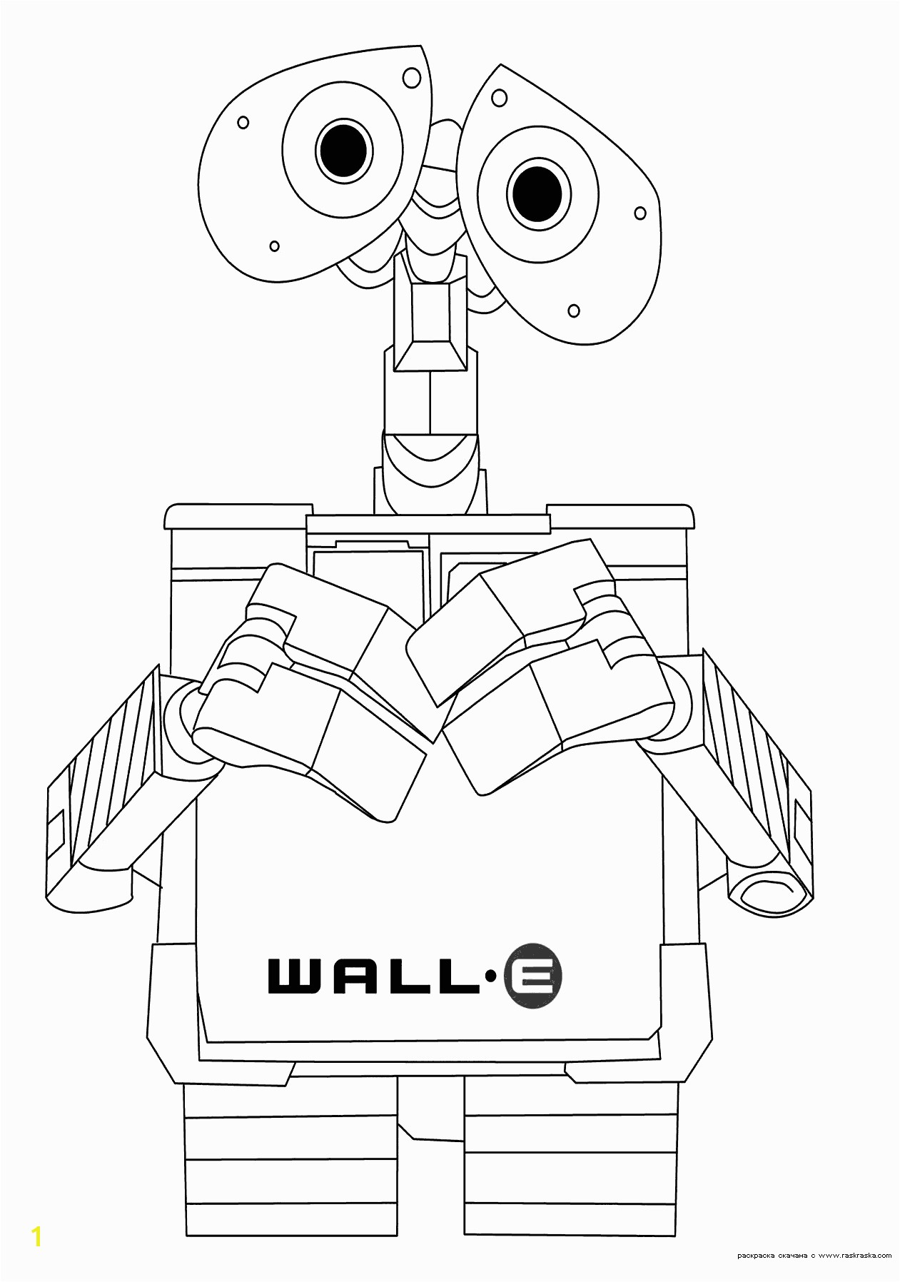 Wall E Coloring Pages 1 Para Colorir Pinterest Walls In