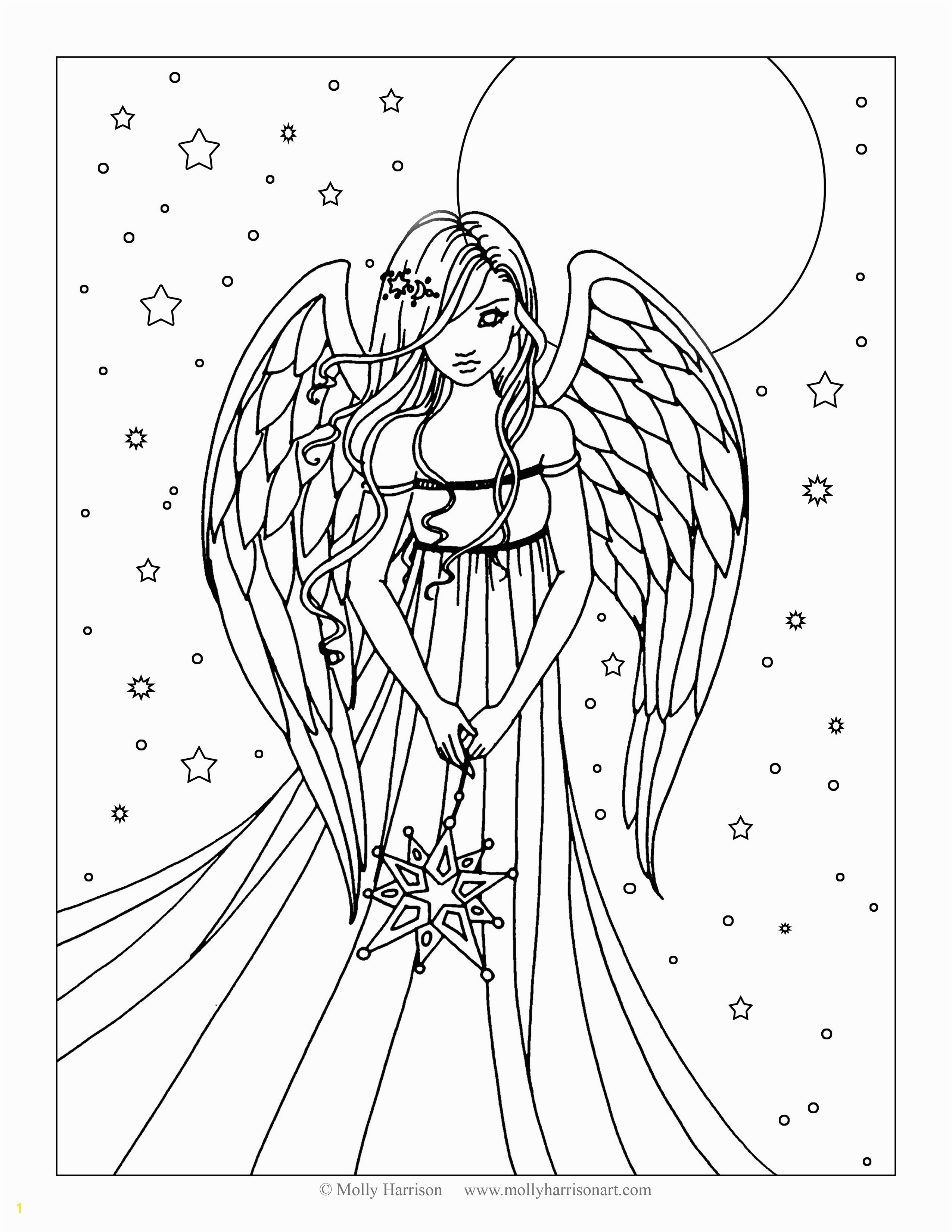 angels coloring pages rallytv org inside angel