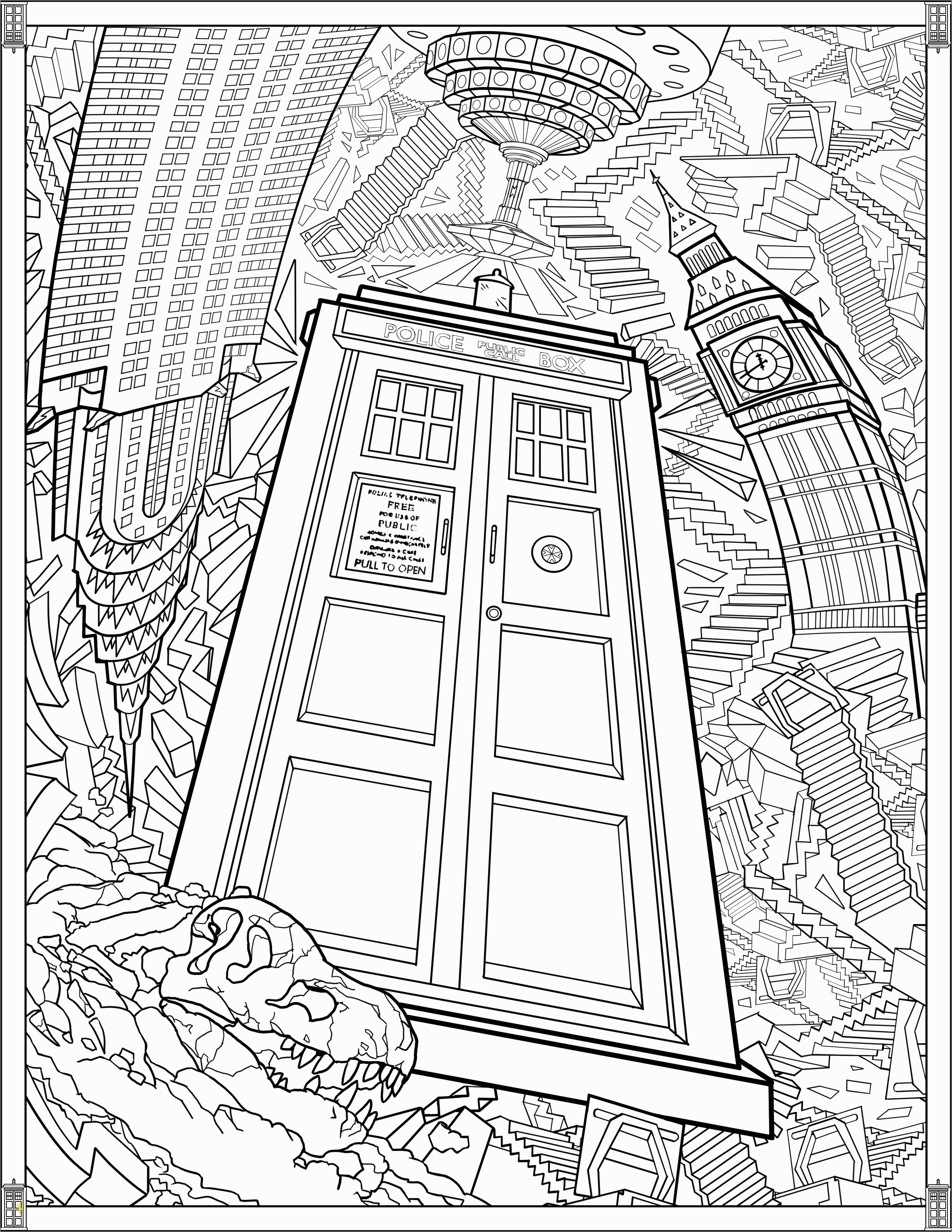 Weeping Angel Coloring Page Best Doctor who Coloring Pages Weeping Angels Gallery
