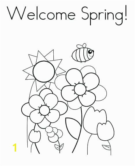 Welcome Spring Coloring Pages Printable Spring Coloring Pages Printable Spring Coloring Pages Flowers Spring