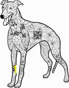 Hunde Mandala als PDF zum kostenlosen runterladen