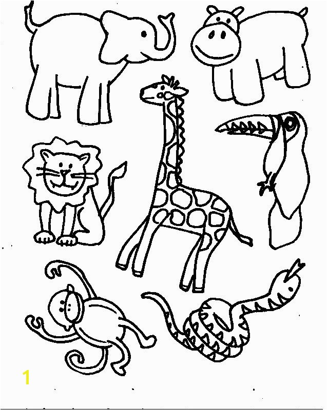Wild Animals Coloring Pages Pdf Animals Printable Coloring Pages Free Printable Coloring Pages