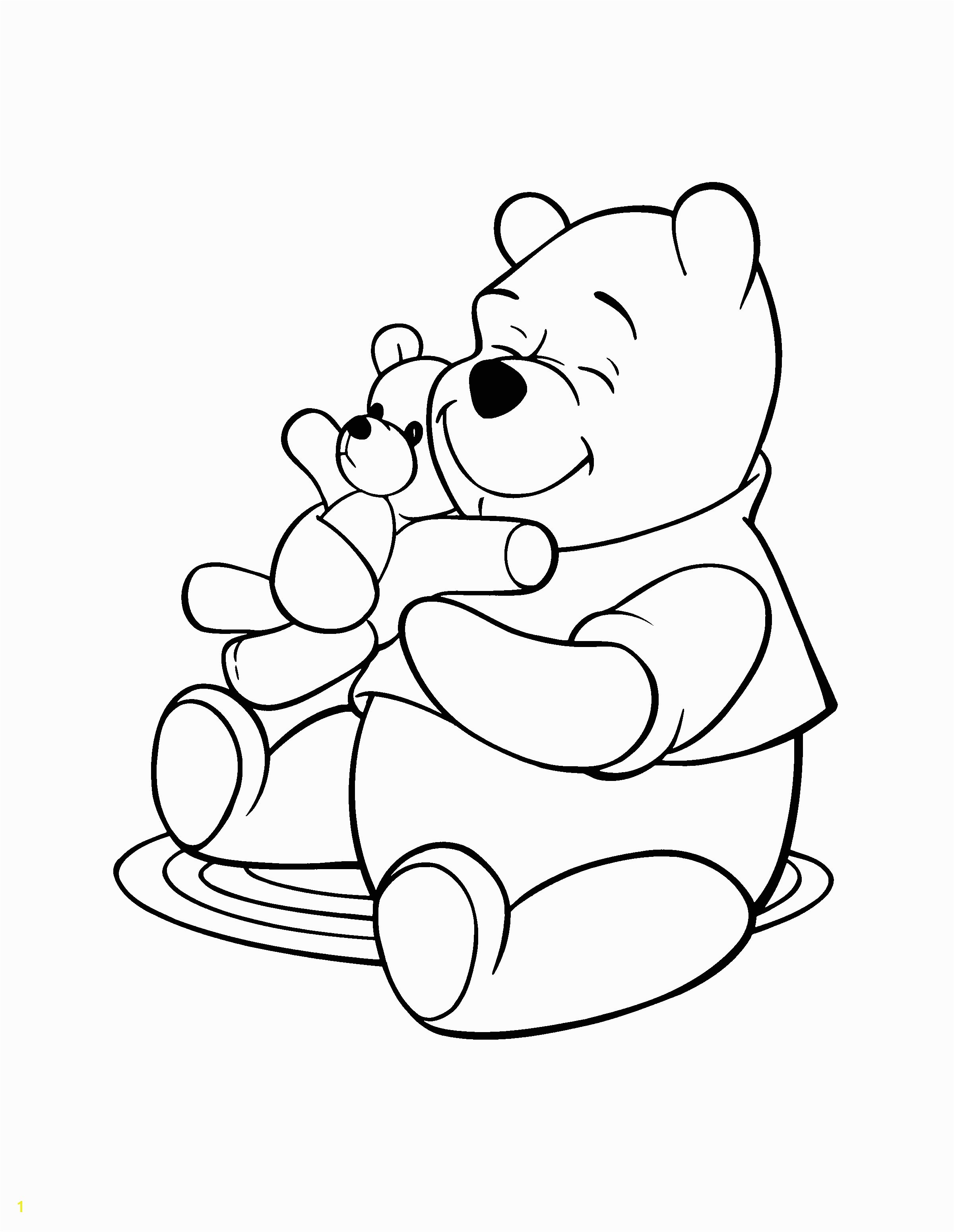 Winnie the Pooh Characters Coloring Pages Winnie the Pooh Coloring Pages
