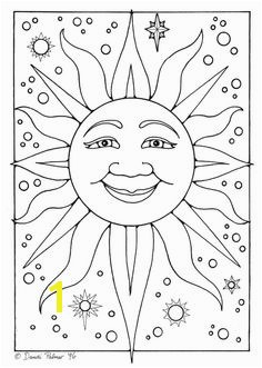 25 Interesting Sun Coloring Pages If your kid is fascinated by this amazing and gigantic star called sun give him some more of it by ting him to color