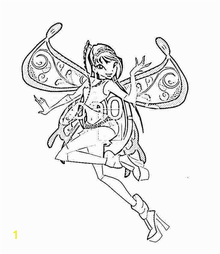 Winx Club Coloring Pages 13 Best Winx Club Bloom Harmonix Coloring Pages Image