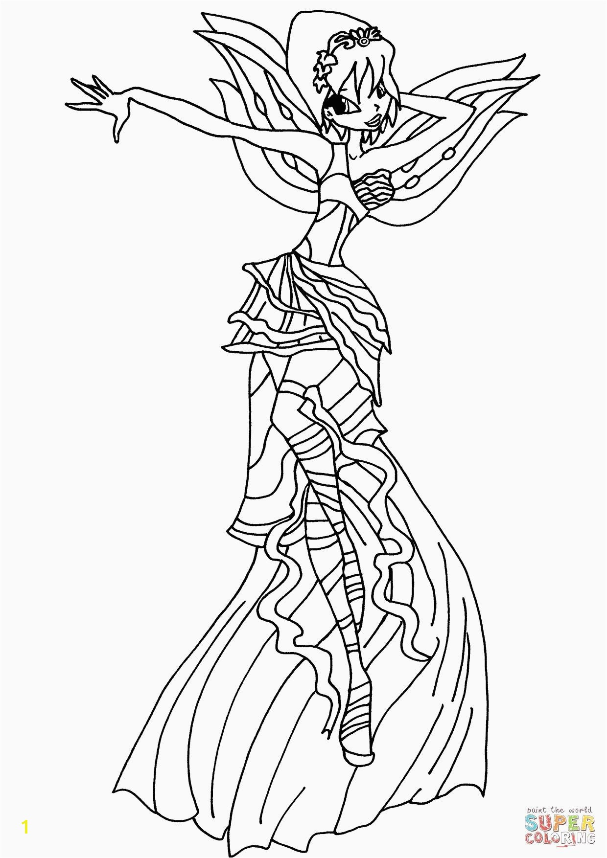 Winx Club Coloring Pages Best Tecna Winx Club Coloring Pages for Girls Elegant Winx Club