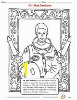 Dr Mae Jemison Coloring Page African American History Printable Grades K 12