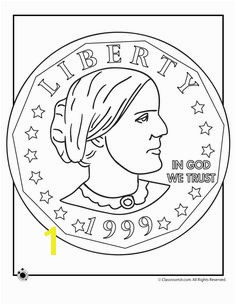 Susan B Anthony Coloring Pages Susan B Anthony Coin Coloring Page – Classroom Jr Find this Pin and more on Women s History Month