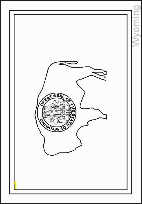 Wyoming Flag Coloring Page Inspirational £Æ'¯£'¤£'ª£Æ'Ÿ£Æ'³£'°¥