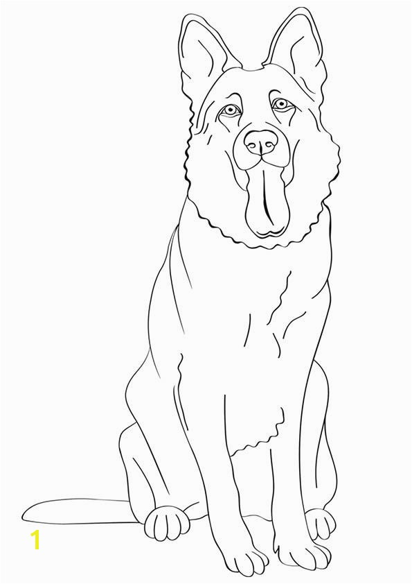 German Shepherd Dog Buzzle Printable Templates More