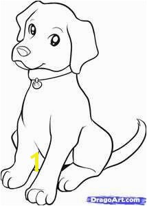 Chocolate Lab Puppy Coloring Pages