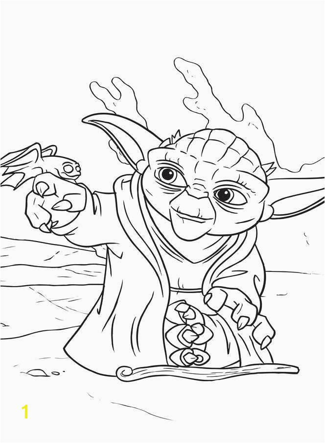 Yoda Head Coloring Page Drawing Page Line Luxury Coloring Pages to Color Line Unique
